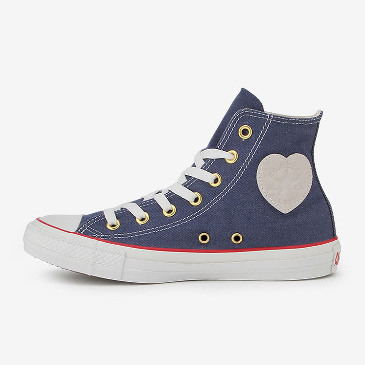 ALL STAR HEARTPATCH DENIM HI