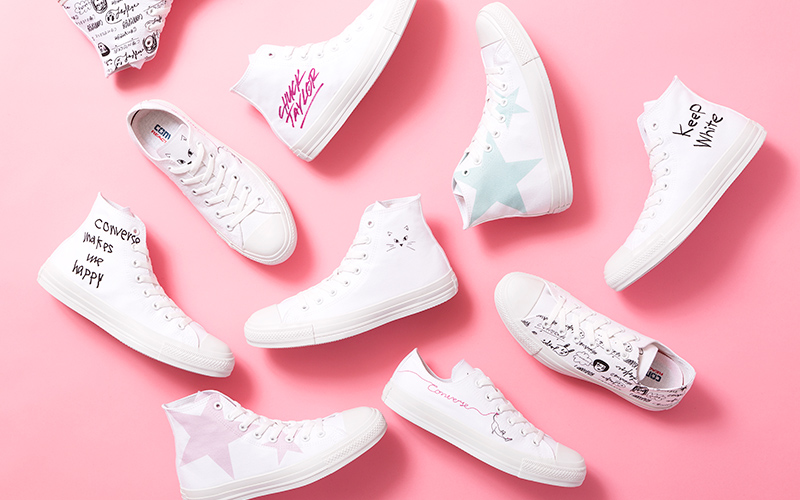 White atelier BY CONVERSEのStandard Printがバージョンアップ!!