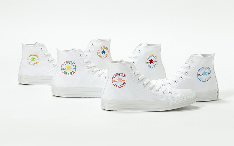 White atelier BY CONVERSEで刺繍芸人グッドウォーキン上田歩武さんとALL STARに刺繍をしよう!
