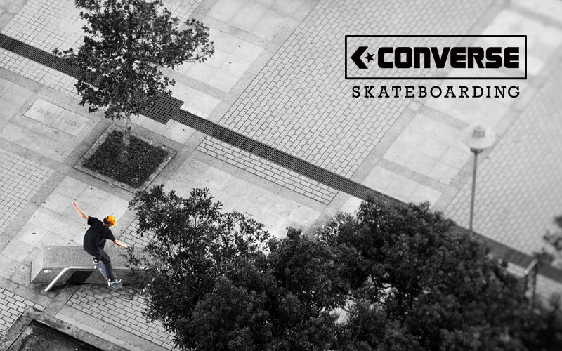 "CONVERSE SKATEBOARDING ""LAUNCH MOVIE""が公開"