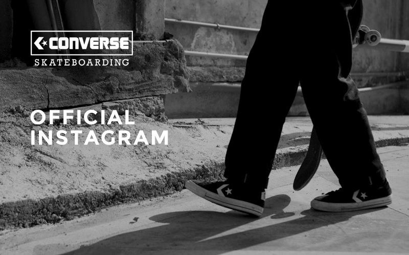 CONVERSE SKATEBOARDING OFFICIAL INSTAGRAM