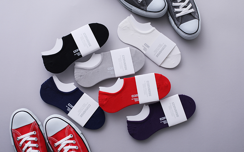 【OFFICIAL ONLINE SHOP / White atelier BY CONVERSE限定】 キャンバスオールスター ソックス