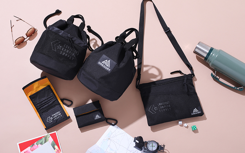 CONVERSE CAMPING SUPPLY × GREGORY 10.12 発売