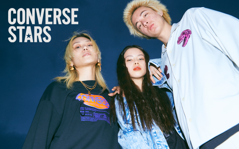 "CONVERSE STARS 2021 Spring / Summer Collection<br>""Girls & Boys"""