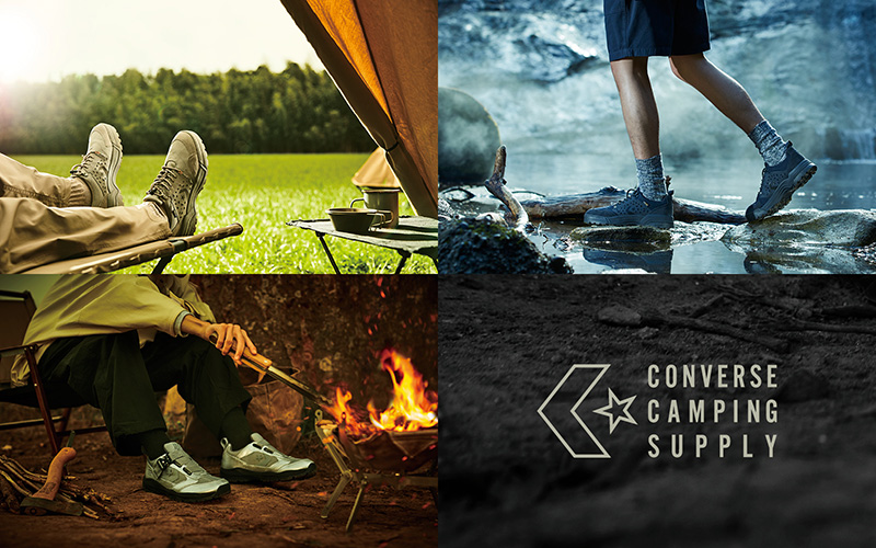 21SS「CONVERSE CAMPING SUPPLY」新作発売