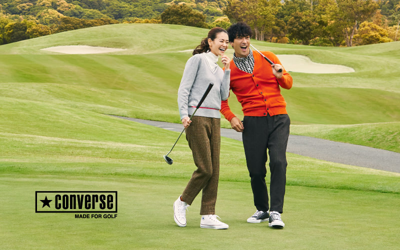 2021 FALL&WINTER「CONVERSE MADE FOR GOLF」インタビュー公開